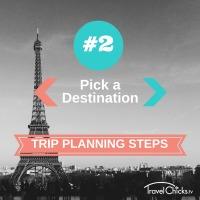 Step2 - Trip Planning Steps - Pick a Destination