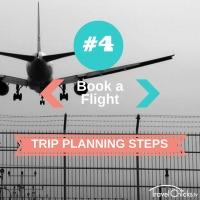 Step 4 - Trip Planning Steps - Book a Flight