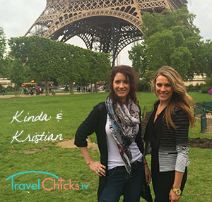 Travel Chicks Kinda Wilson and Kristian Kelly