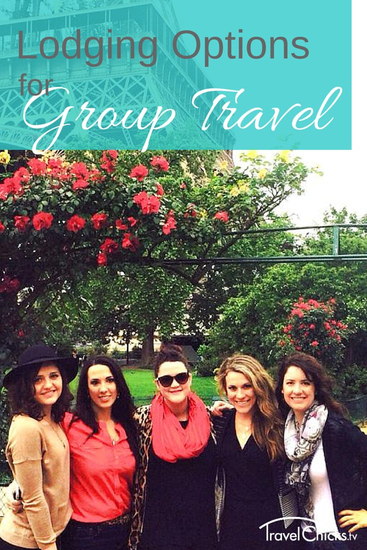 Lodging options for group travel overseas