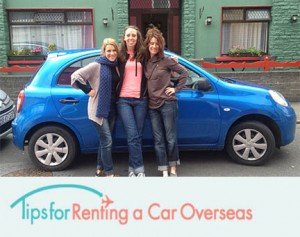 Tips for renting a car overseas