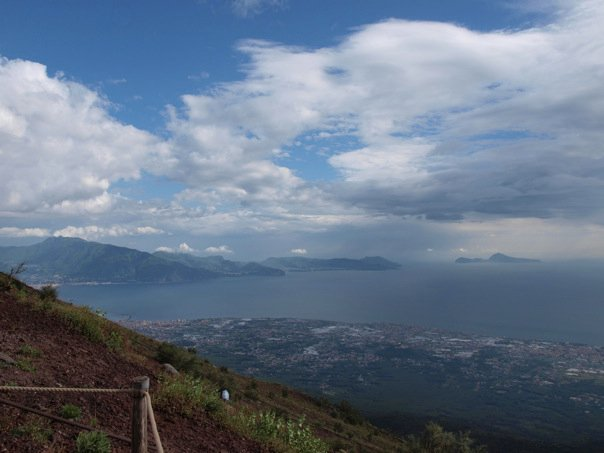 View From The Top Of Vesuvius Top Places To See In Southern Italy Travel Chicks Travel Chicks