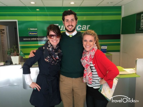 The Europcar Employee who rescued us