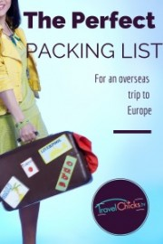 The perfect packing list