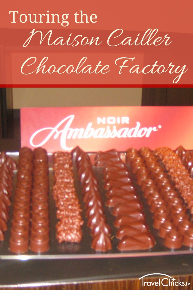 The Maison Cailler Chocolate Factory Tour