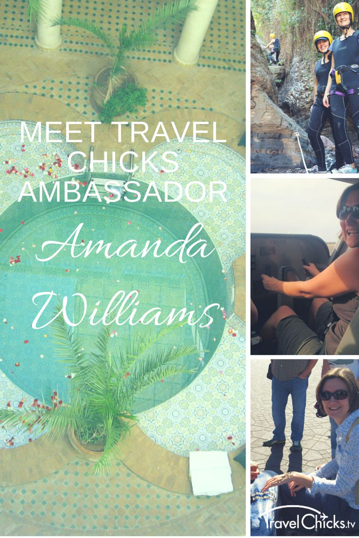 Meet Travel Ambassador Amanda Williams